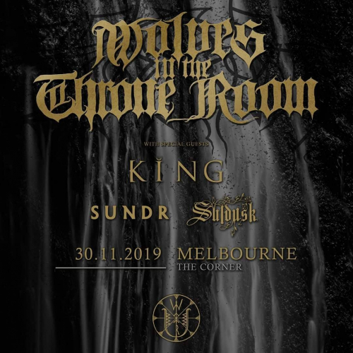 @wittrofficial are bringing their signature black metal brilliance our way in a few weeks! ✨ More info + tickets at cornerhotel.com
