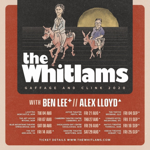 Aussie alt-rock legends @thewhitlams.official are Corner bound this Sep! Plus, following the huge response to the first show, they've just announced a second too. 😱  HUGE. Tickets → cornerhotel.com.