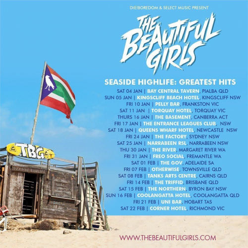 Aussie roots legends @thebeautifulgirlsloveyou are celebrating 20 years as a band together this weekend!  Playing old and new faves galore, tickets are on sale now → cornerhotel.com.