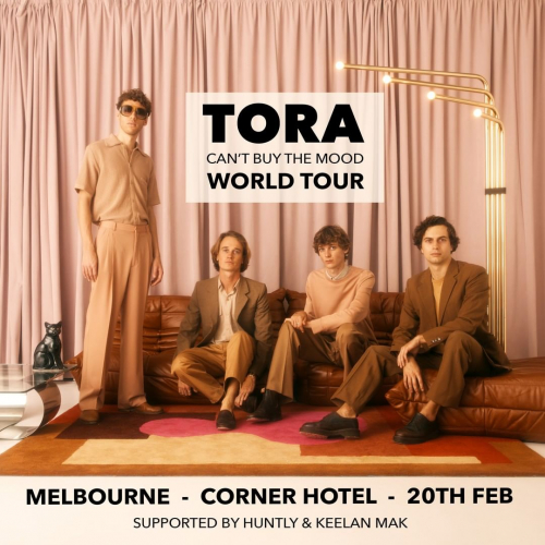 Byron electro-pop outfit @toramusic will be hitting our stage with a tonne of tracks from their recently released second album next week!  Catch 'em before they head overseas, tickets on sale now → cornerhotel.com.