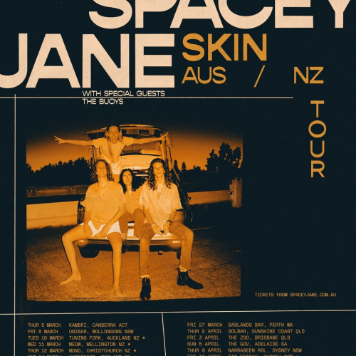 JUST ANNOUNCED: Fresh off the back of their @lanewayfest appearances, @spacey_jane are headed our way in March! Tickets on sale now → cornerhotel.com.