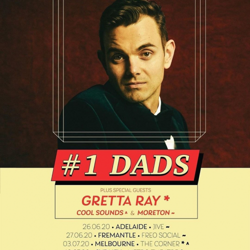 CALL DAD ☎️ @tomiansek aka #1 Dads will be celebrating the release of their third studio album with us this July.  Set those alarms, tickets on sale Tue 17 March → cornerhotel.com.